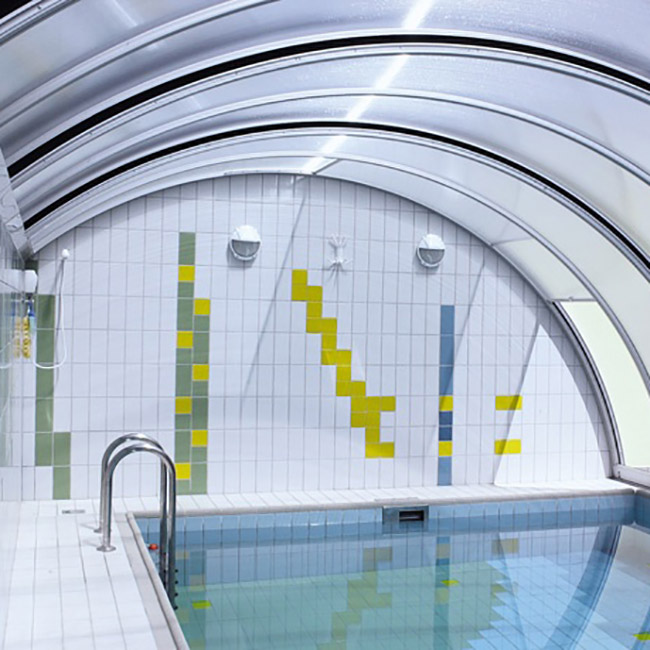 Abri pour piscine AquaComet : Creative