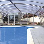 Abri pour piscine AquaComet : Harmonie, Harmonie Plus