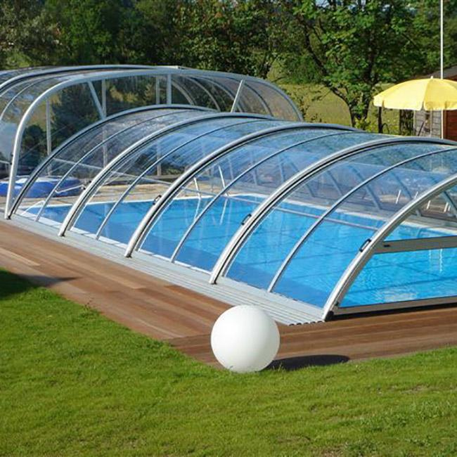 Abri pour piscine AquaComet : Lok
