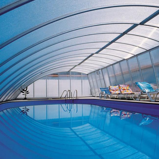 Abri pour piscine AquaComet : Practic