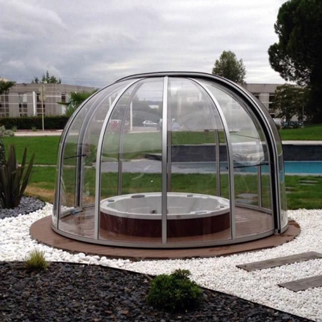 Abri pour spa AquaComet : Rondo