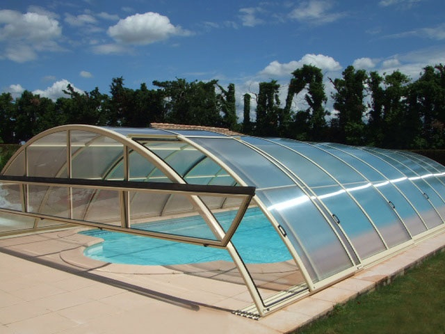 Abri pour piscine AquaComet : Sun, Sky, Zenith Standard