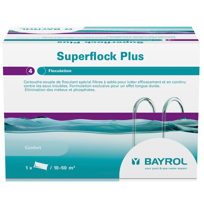 Superflock Plus 1 kg (boîte de 8 cartouches)