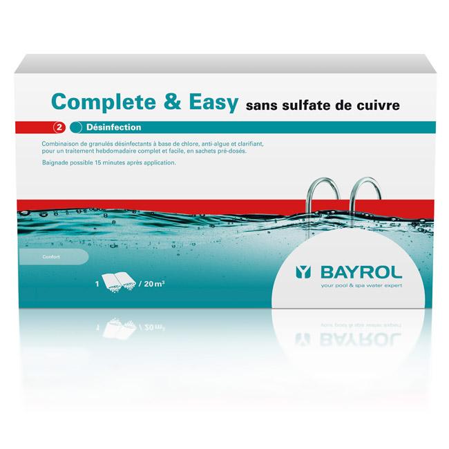 Complete & Easy - sans sulfate de cuivre