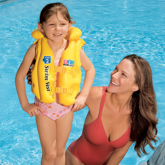 Gilet de natation POOL SCHOOL 3 à 6 ans