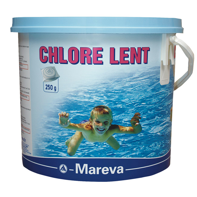 CHLORE LENT 250 g emballé
