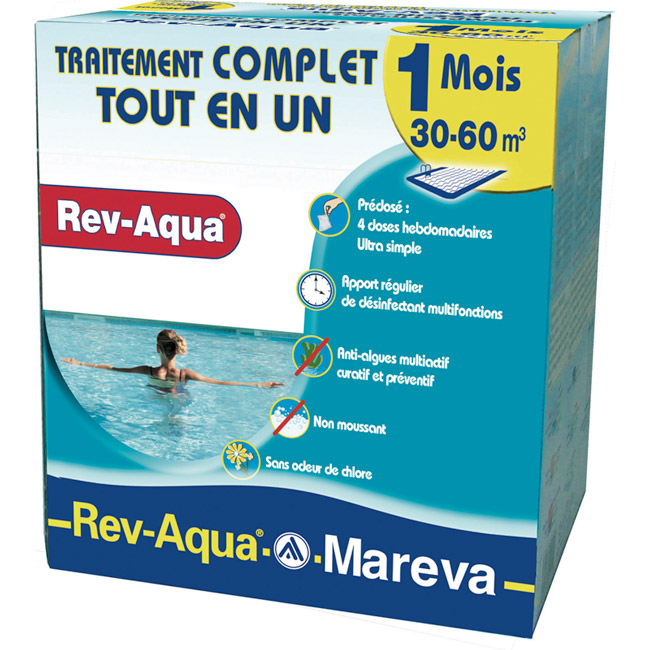 Rev-Aqua® traitement complet, multi-actif