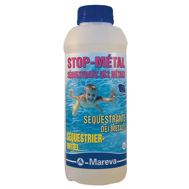 STOP-MÉTAL - SÉQUESTRANT DES MÉTAUX