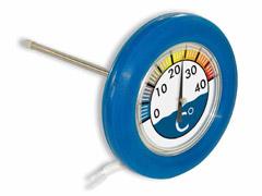 Thermomètre rond flottant